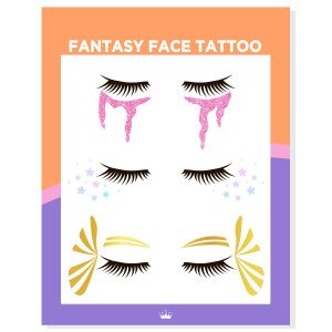 Halloween Fantasy FaceTattoo
