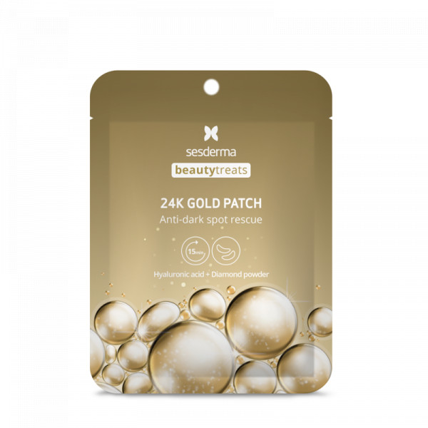 Parches Contorno de Ojos 24K Gold