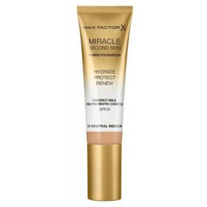 Base de Maquillaje Miracle Second Skin Foundation 07 Neutral Medium