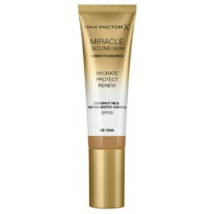 Base de Maquillaje Miracle Second Skin Foundation 09 Tan