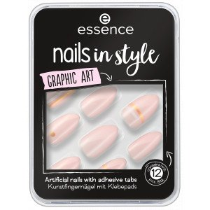 Nails In Style Uñas Postizas 09. Graphic Art