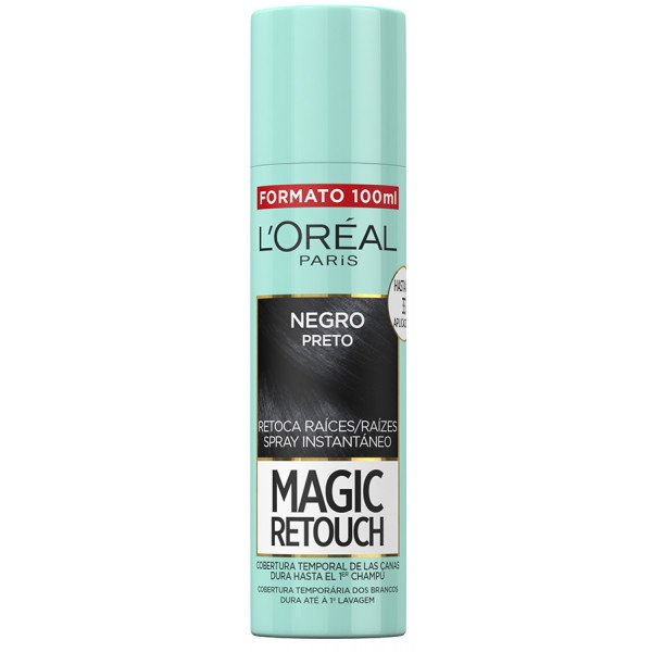 Magic Retouch Spray Retoca Raíces Negro