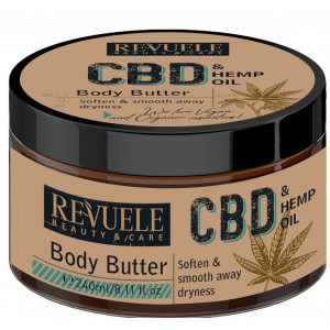 CBD & Hemp Oil Body Butter Manteca corporal