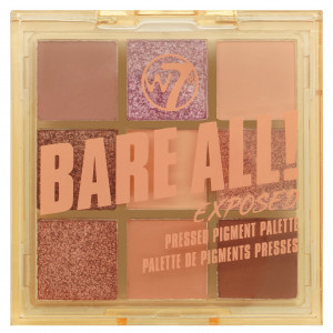 Paleta Bare All Pressed Pigment Palette Exposed