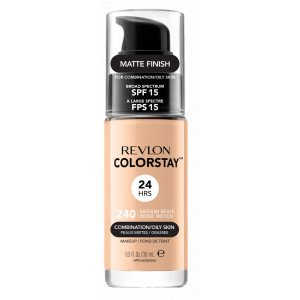 COLORSTAY Base de Maquillaje Piel Mixta a Grasa 240 Medium Beige