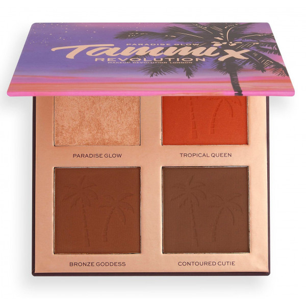 Revolution X Tammi Face Palette Tropical Twilight Paradise Glow
