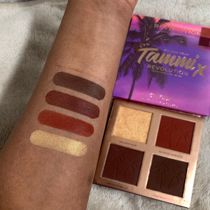 Revolution X Tammi Face Palette Tropical Twilight Golden Hour