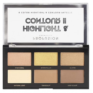 Paleta de rostro Highlight & Contour II