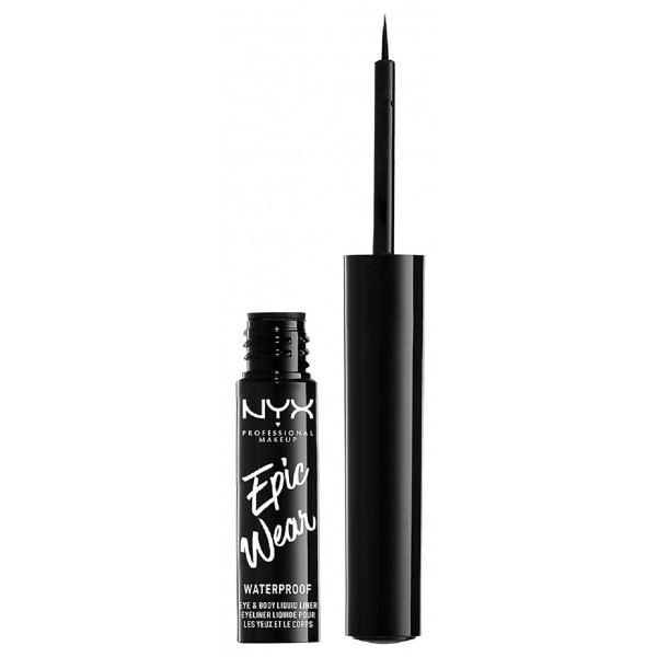 Epic Wear Eyeliner líquido semi permanente Black