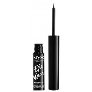 Epic Wear Eyeliner líquido semi permanente Brown