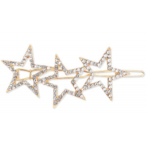 Clips Estrellas con Strass Porporaporpita by Princess Oro