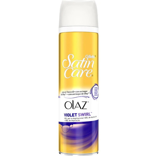 Satin Care Gel Depilación en Spray Violet Swirl
