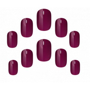 Uñas postizas French Berry Blast