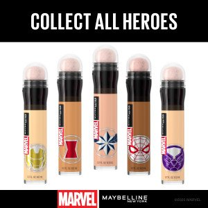 01 Light Borrador Corrector de Ojeras Bolsas e Imperfecciones MARVEL Edición Limitada