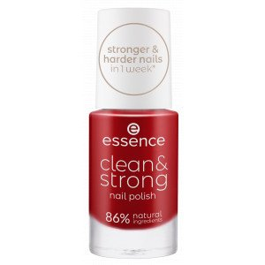 Clean & Strong Nail Polish Esmaltes de Uñas 05 Loud Poppy