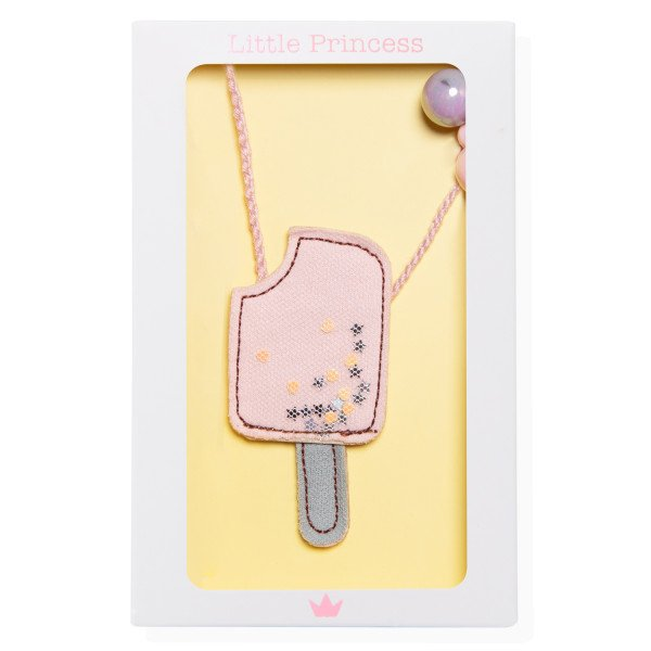 Little Princess Collar Helado Rosa