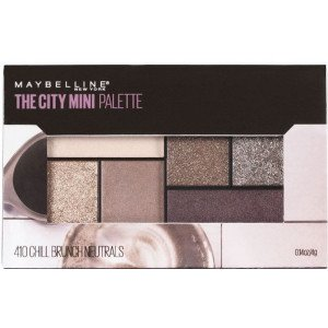 The City Mini Paleta de Sombras 410 CHILL BRUNCH NEUTRALS-2