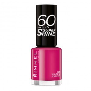 323 Funtime Fuchsia 60 SECONDS SUPER SHINE