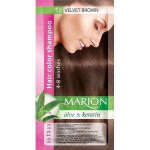 52 Velvet Brown Hair Color Shampoo