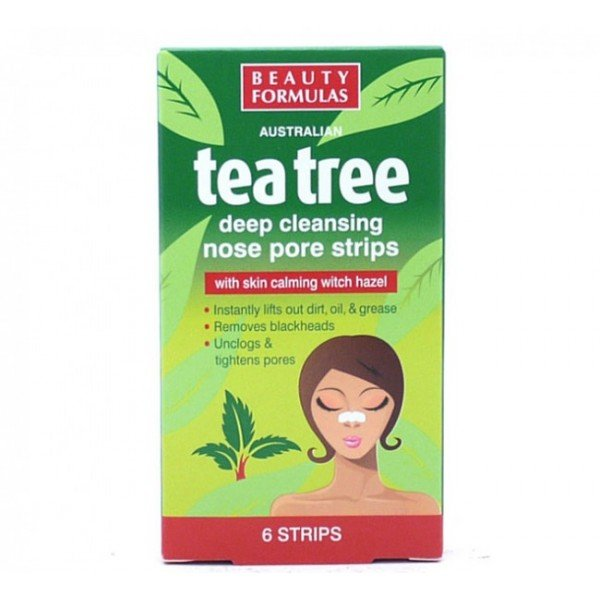 TEA TREE NOSE PORE STRIPS