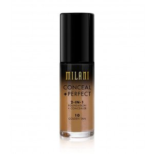 Conceal + Perfect 2 en 1 Base de Maquillaje Golden Tan