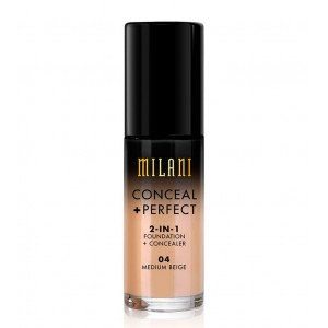 Conceal + Perfect 2 en 1 Base de Maquillaje Medium Beige