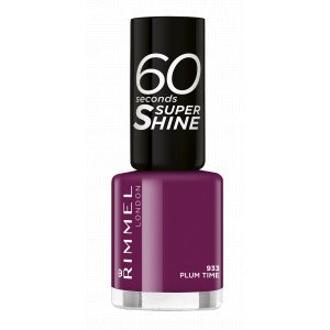 60 SECONDS SUPER SHINE 933 Plum Time