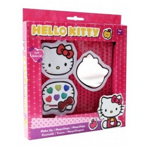 Mini Estuche Hello Kitty con espejo