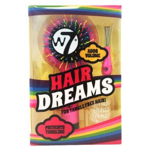Hair Dreams Set de Cepillo y Gomas de Pelo