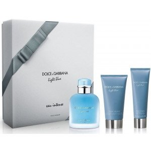 Light Blue Intense pour Homme Estuche