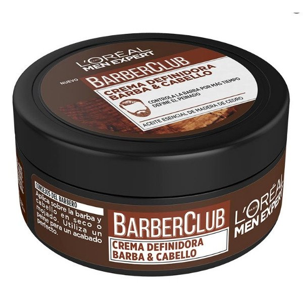 Barber Club Crema definidora barba y cabello
