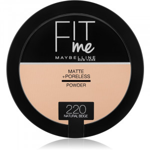 Fit Me Matte & Poreless Polvos Matificantes 220 Natural Beige