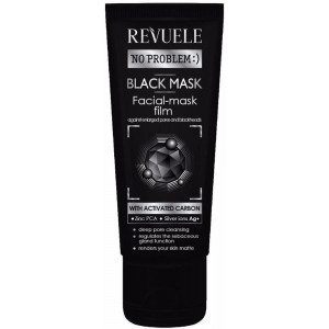 Black mask peel off activated carbon