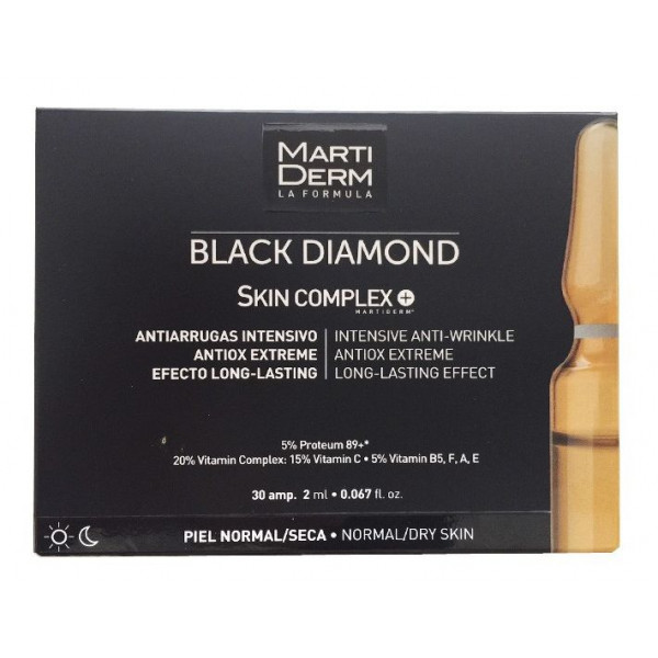 Black Diamond Skin Complex Ampollas Antiarrugas