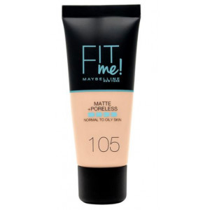 Fit Me Matte + Poreless Base de Maquillaje 105