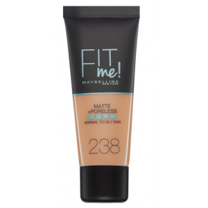 Fit Me Matte + Poreless Base de Maquillaje 238