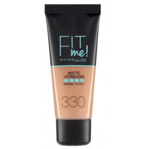 Fit Me Matte + Poreless Base de Maquillaje 330