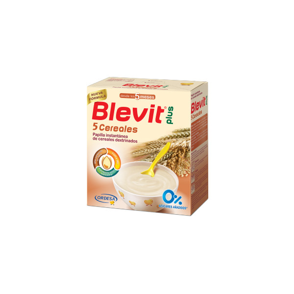 Papillas Blevit Plus 5 cereales