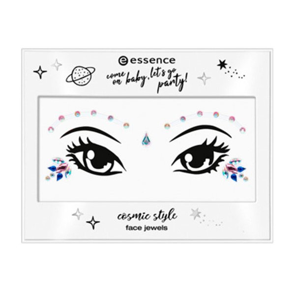 Come On Baby, Let's Go Party Adhesivos Rostro Cosmic Style