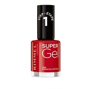 Super Gel Nail Polish Italian Shades 059 Hibiscus Hottie