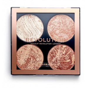 Paleta Cheek Kit de Iluminadores y Bronceadores dont hold black