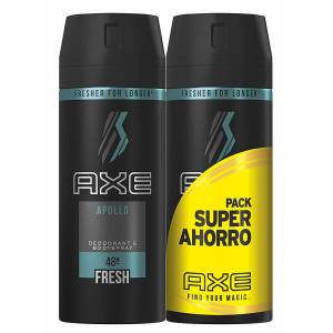 DEO APOLLO SPRAY 2 x 150 ml