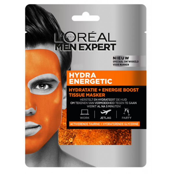 Men Expert Mascarilla Hydra Energetic