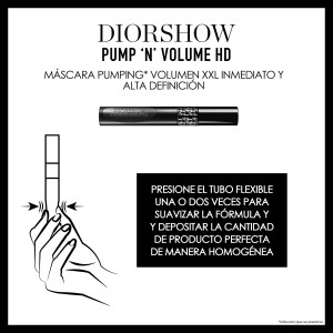 DIORSHOW PUMP'N'VOLUME HD_Máscara Pumping Volumen 695