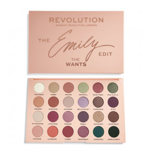 Paleta de Sombras The Emily Edit The Wants