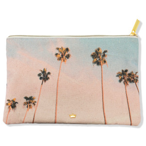 Canvas Bolso de Mano PALM-PARADISE