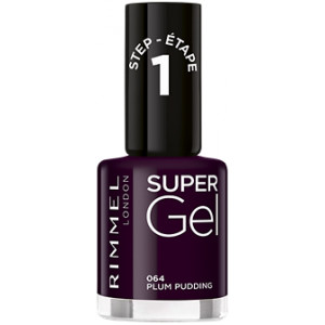 Super Gel Nail Polish Italian Shades 064 Plum Pudding