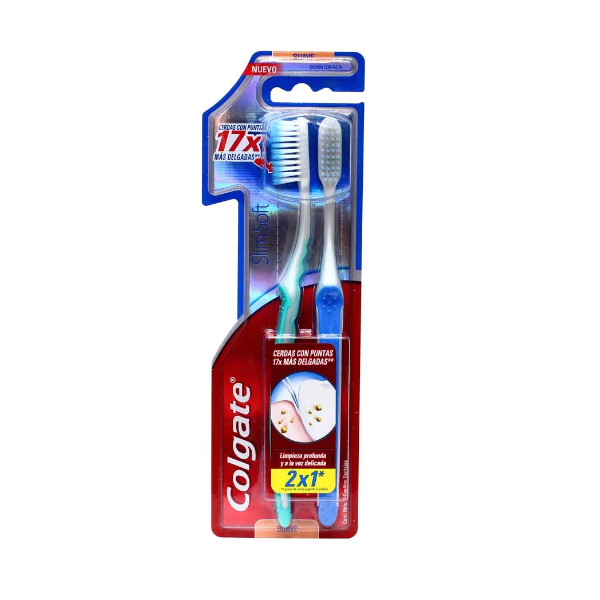 Pack Cepillo de Dientes Slim Soft