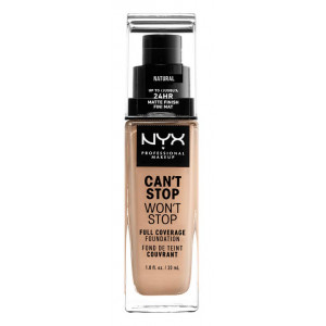 Can't Stop Won't Stop Base de Maquillaje Fluida Natural