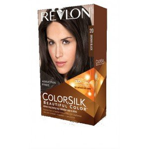 20 Brown Black COLORSILK Tinte Sin Amoniaco